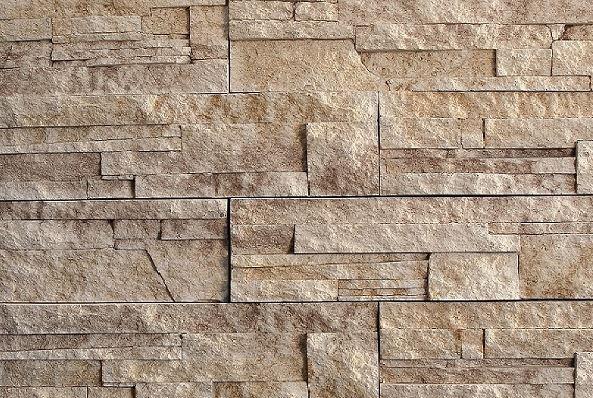 Lámaný kameň béžovošedý