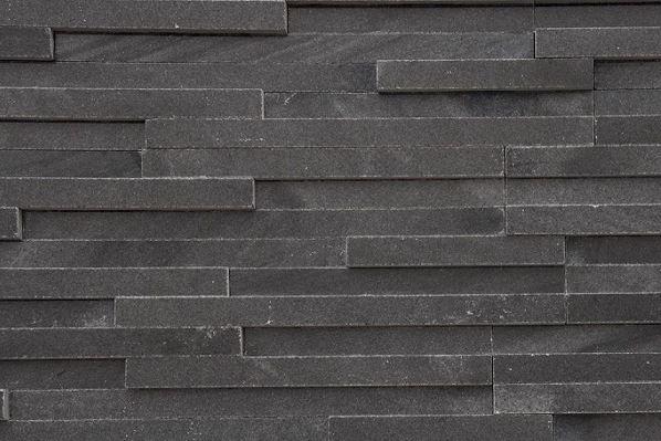 Prírodný kameň Black remienok leštený