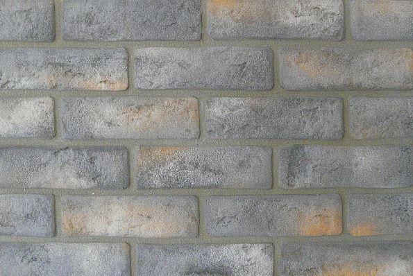 Tehlový obklad rustic šedý