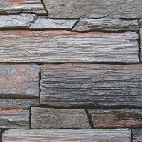 Umelý kameň bridlica hradná šedá
