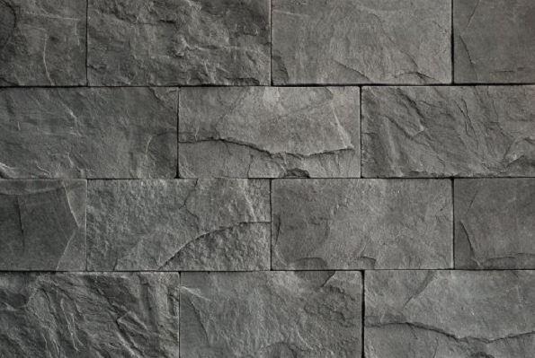Umelý kameň bridlica štandard tmavošedá