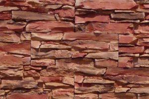 Umelý kameń Kriváň červenohnedý