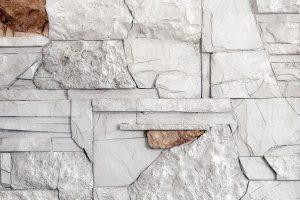 Umelý kameň Mix bielosivý