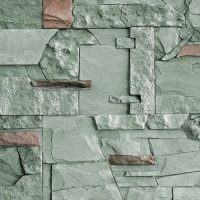 Umelý kameň Mix zelenošedý